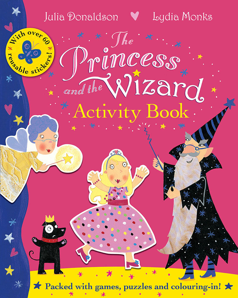 The Princess and the Wizard Activity Book - Jacket