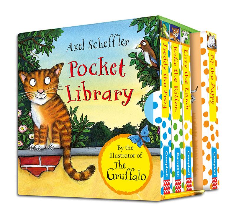 Axel Scheffler's Pocket Library - Jacket