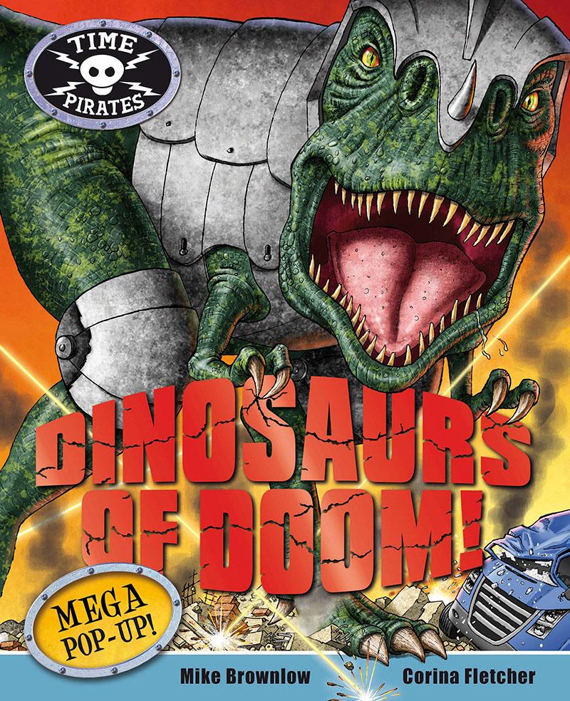 Time Pirates: Dinosaurs of Doom - Jacket