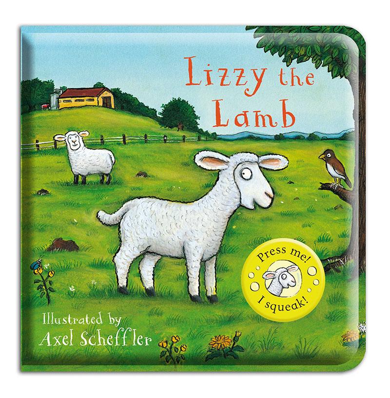 Lizzy the Lamb Bath Book - Jacket