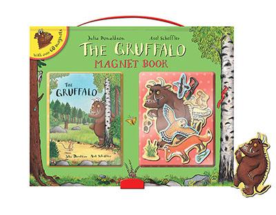 The Gruffalo Magnet Book - Jacket