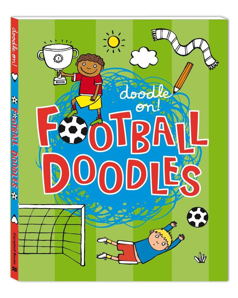 Doodle On!: Football Doodles - Jacket
