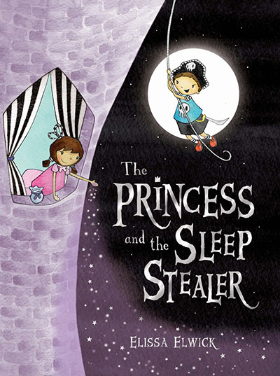 The Princess and the Sleep Stealer - Jacket