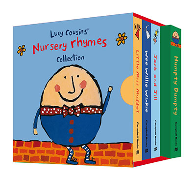 Lucy Cousins' Nursery Rhymes Collection - Jacket
