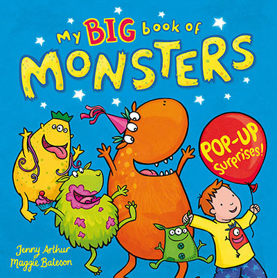 My Big Book of Monsters - Jacket
