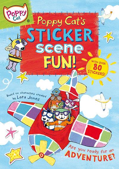 Poppy Cat's Sticker Scene Fun - Jacket