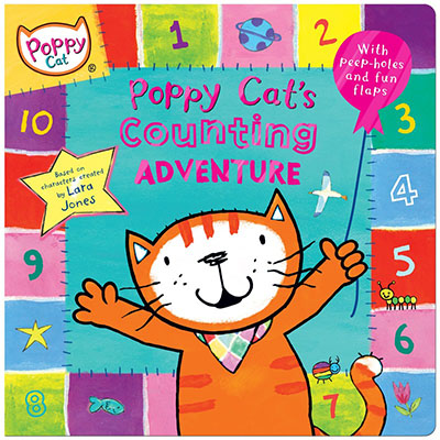 Poppy Cat TV: Poppy Cat's Counting Adventure - Jacket