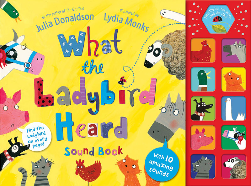 What the Ladybird Heard Sound Book - Jacket