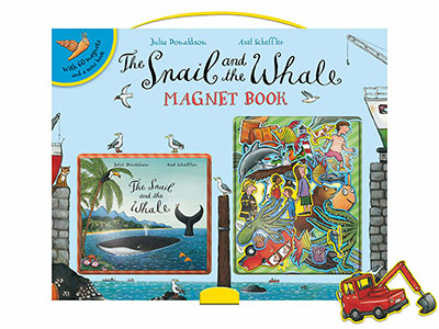 The Snail and the Whale Magnet Book - Jacket