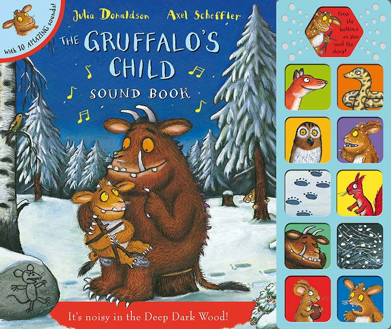 The Gruffalo's Child Sound Book - Jacket