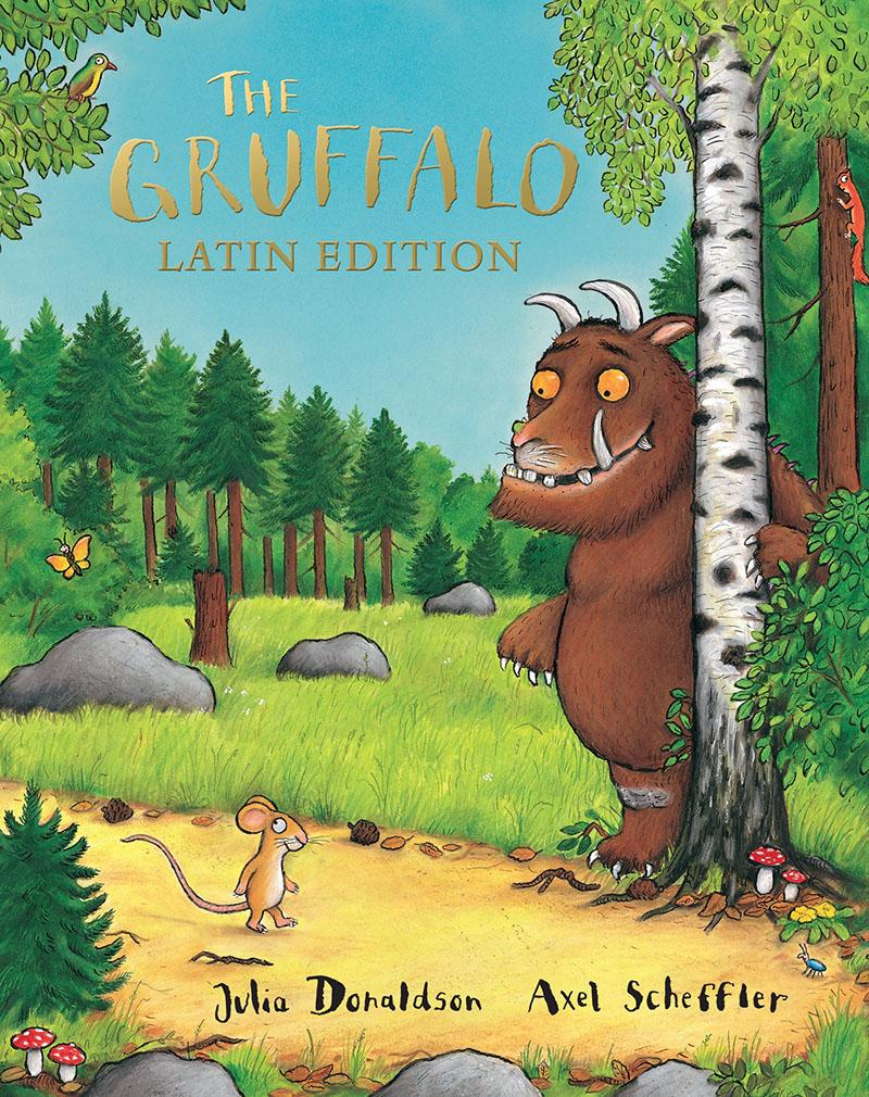 The Gruffalo Latin Edition - Jacket