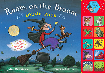 Room on the Broom Sound Book - Jacket