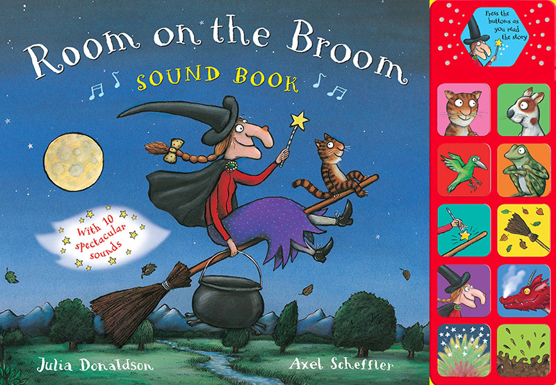 Room on the Broom Sound Book - Jacket