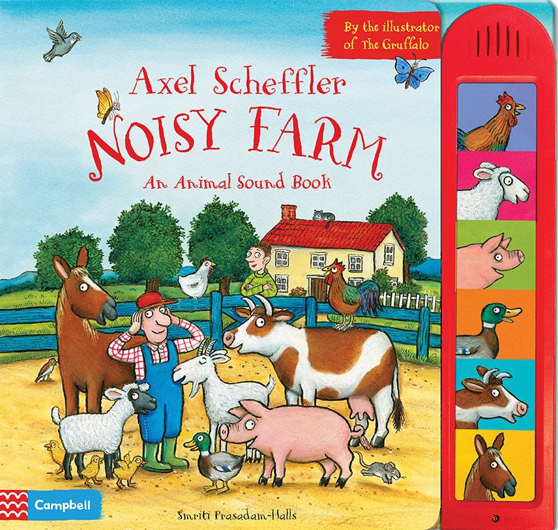 Axel Scheffler Noisy Farm - Jacket