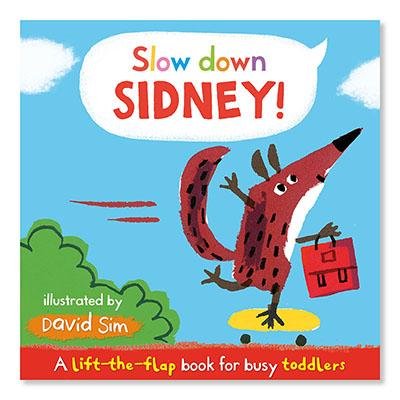 Slow Down, Sidney! - Jacket