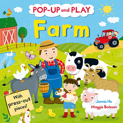 Pop-up and Play Farm - Jacket