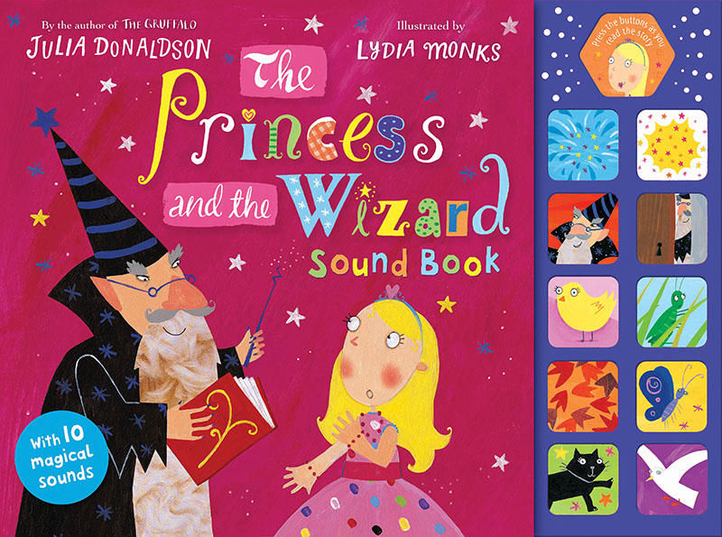 The Princess and the Wizard Sound Book - Jacket