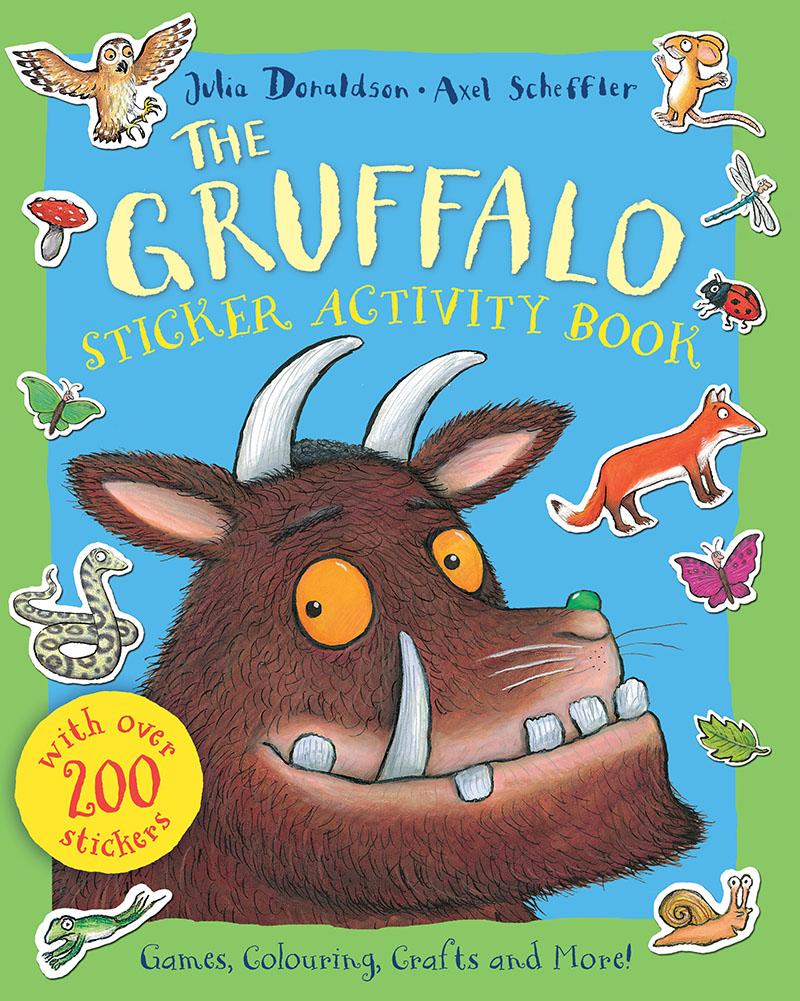 The Gruffalo Sticker Activity Book - Jacket