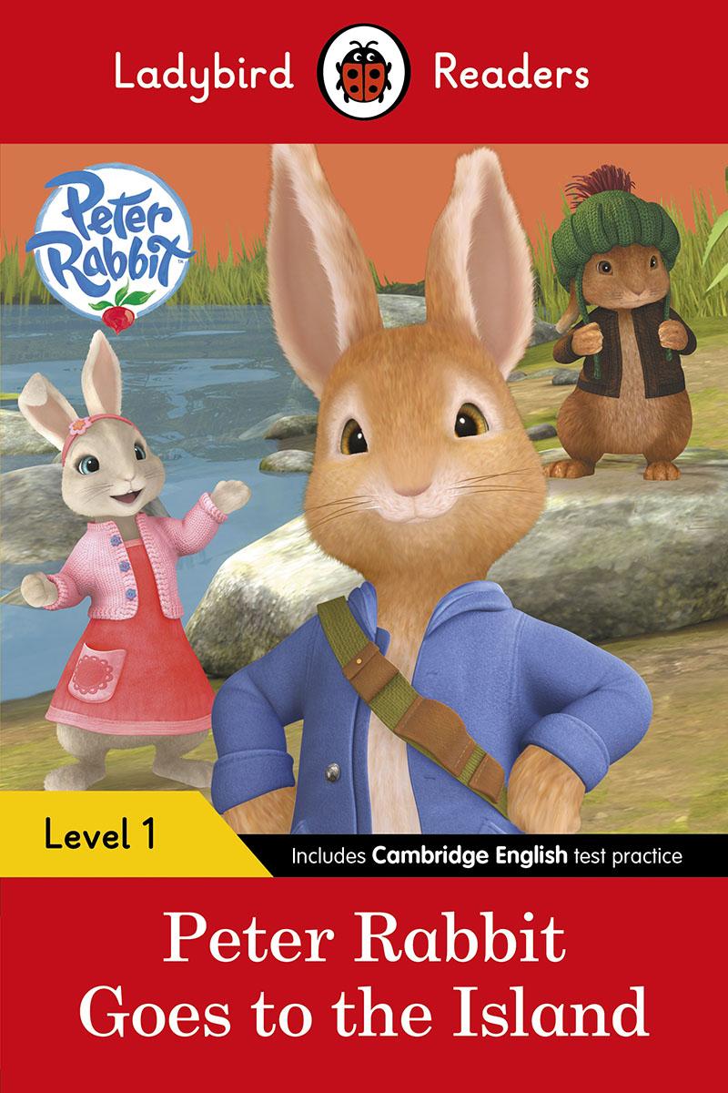 Peter Rabbit: Goes to the Island – Ladybird Readers Level 1 - Jacket