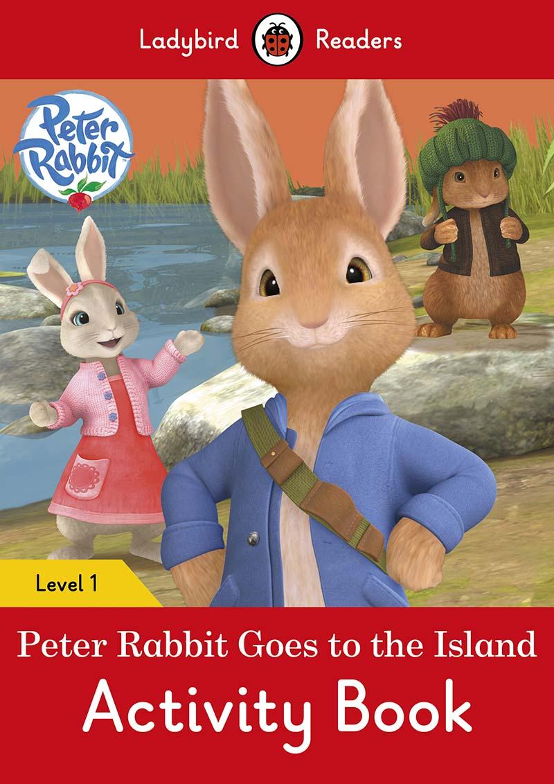 Peter Rabbit: Goes to the Island Activity Book – Ladybird Readers Level 1 - Jacket