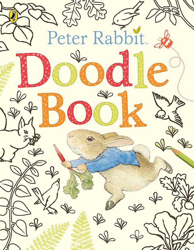 Peter Rabbit: Doodle Book - Jacket