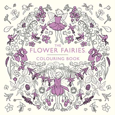 The Flower Fairies Colouring Book - Jacket