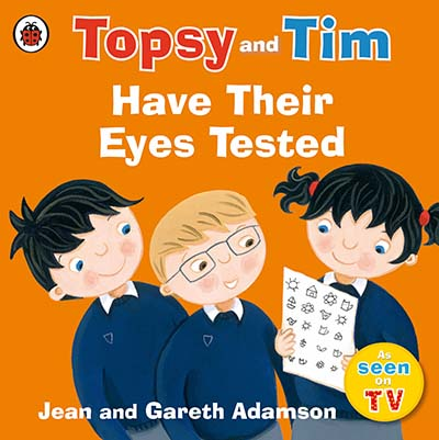 Topsy and Tim: Have Their Eyes Tested - Jacket
