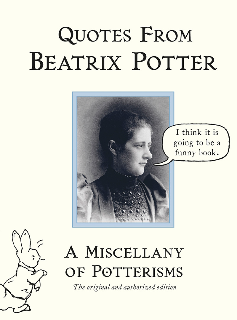 Quotes from Beatrix Potter - Jacket