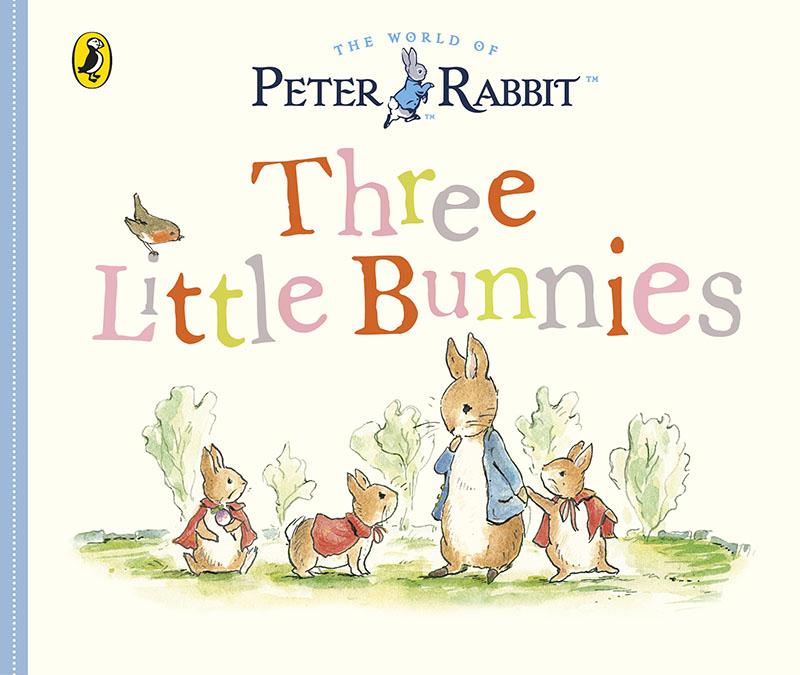 Peter Rabbit Tales - Three Little Bunnies - Jacket