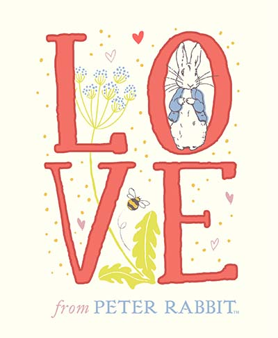 Love From Peter Rabbit - Jacket
