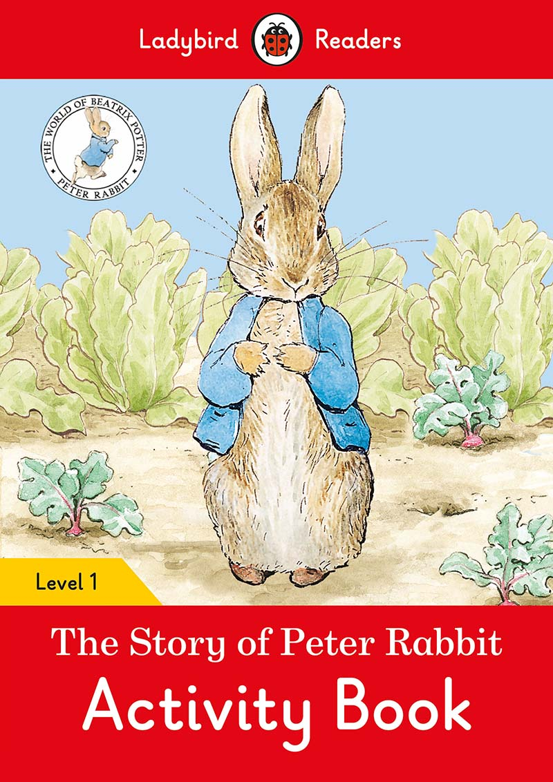 The Tale of Peter Rabbit Activity Book- Ladybird Readers Level 1 - Jacket