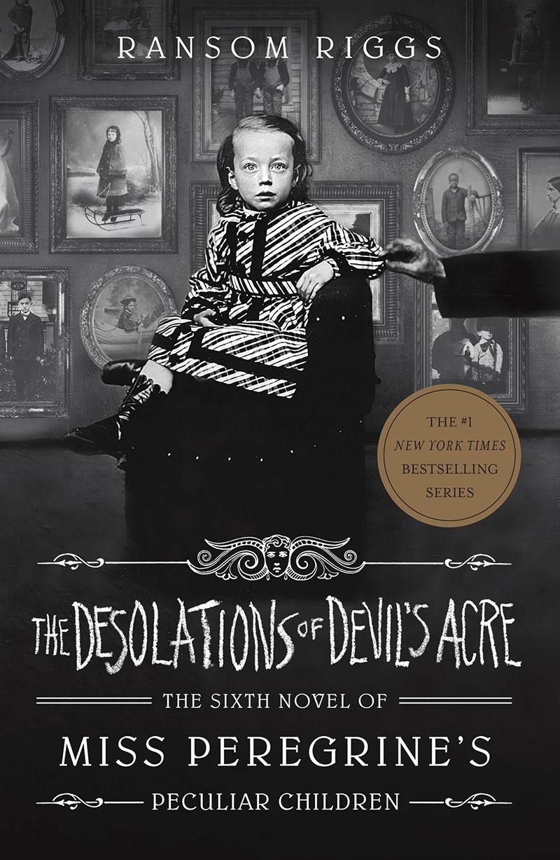 The Desolations of Devil's Acre - Jacket