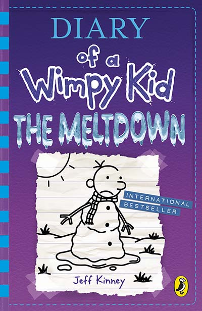 Diary of a Wimpy Kid: The Meltdown (Book 13) - Jacket