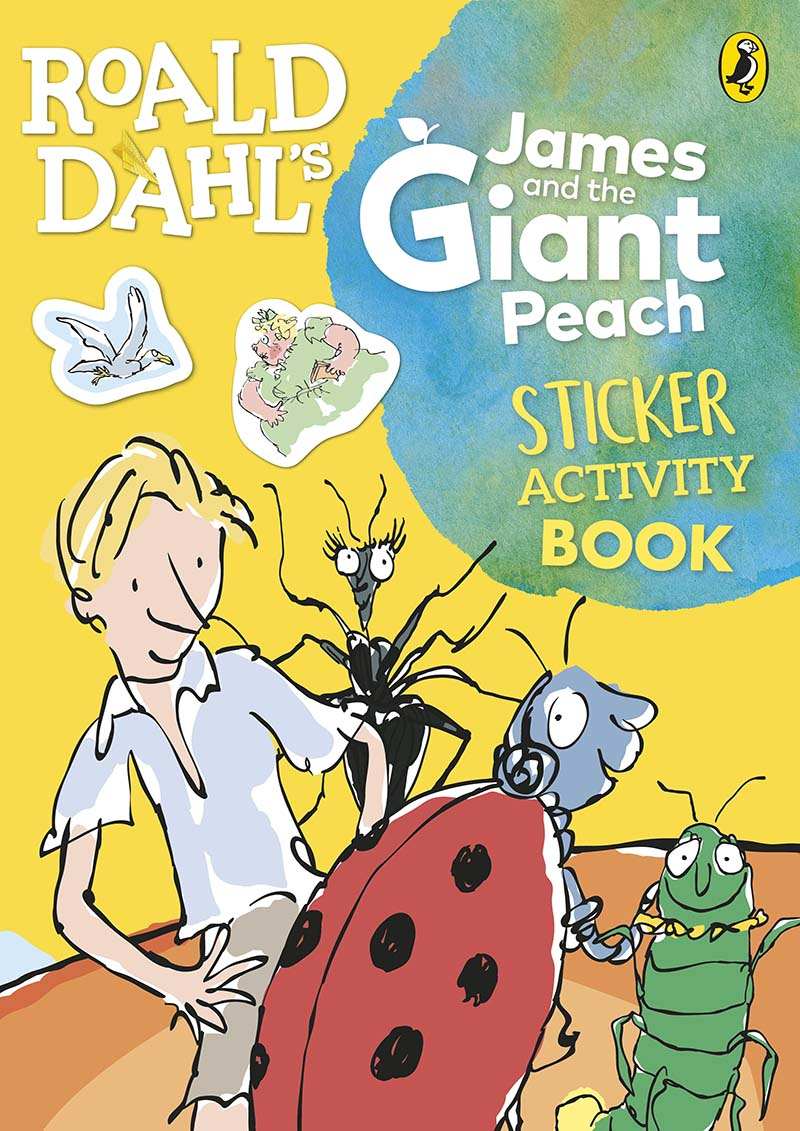 Roald Dahl's James and the Giant Peach Sticker Activity Book - Jacket