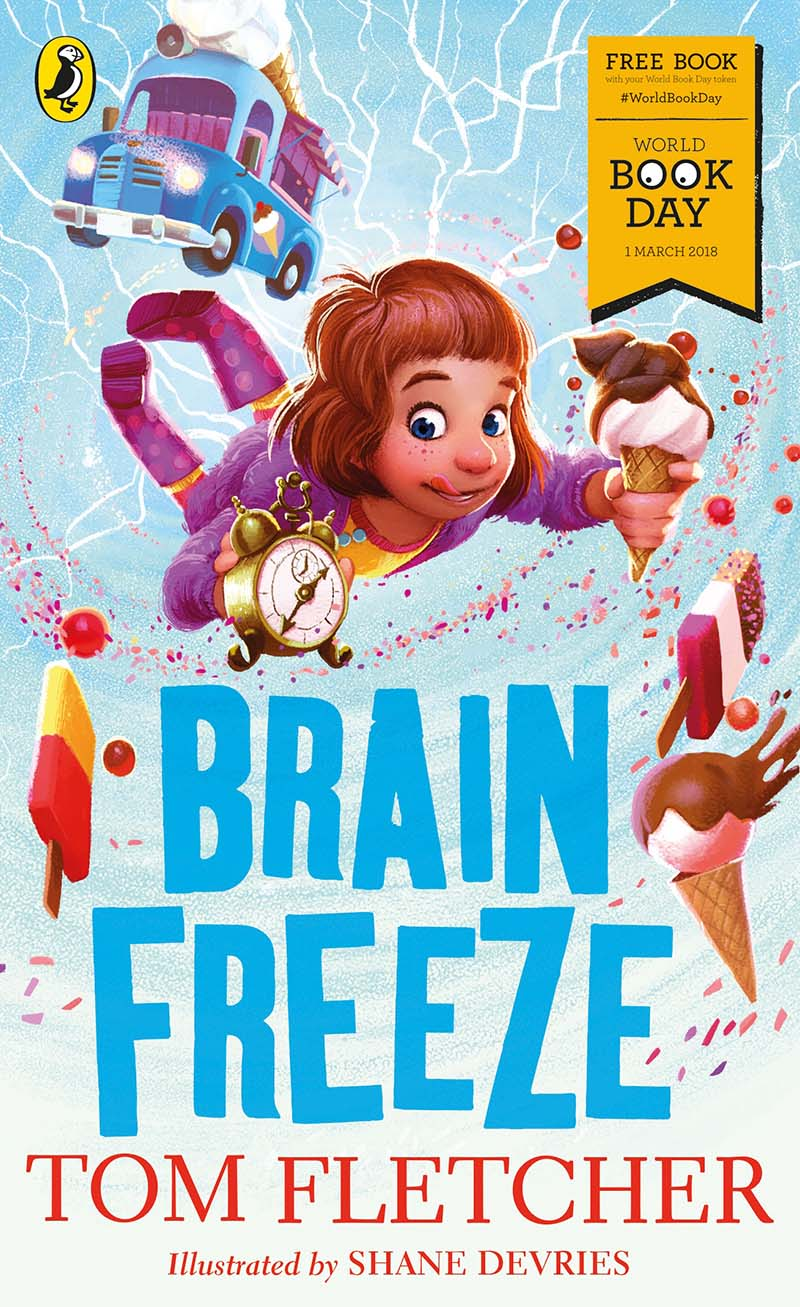 Brain Freeze: World Book Day 2018 - Jacket