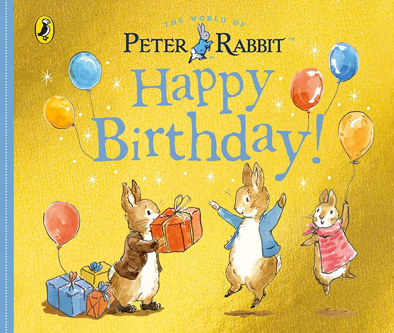 Peter Rabbit Tales – Happy Birthday - Jacket
