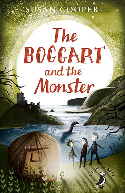 The Boggart And the Monster - Jacket
