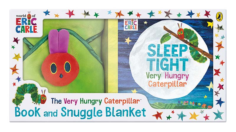 The Very Hungry Caterpillar Book and Snuggle Blanket - Jacket