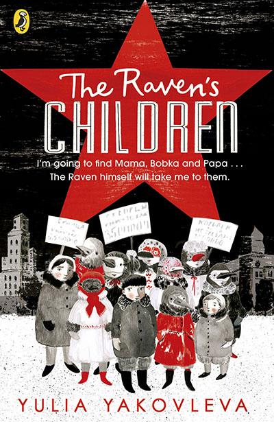 The Raven's Children - Jacket