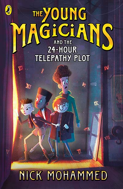 The Young Magicians and the 24-Hour Telepathy Plot - Jacket