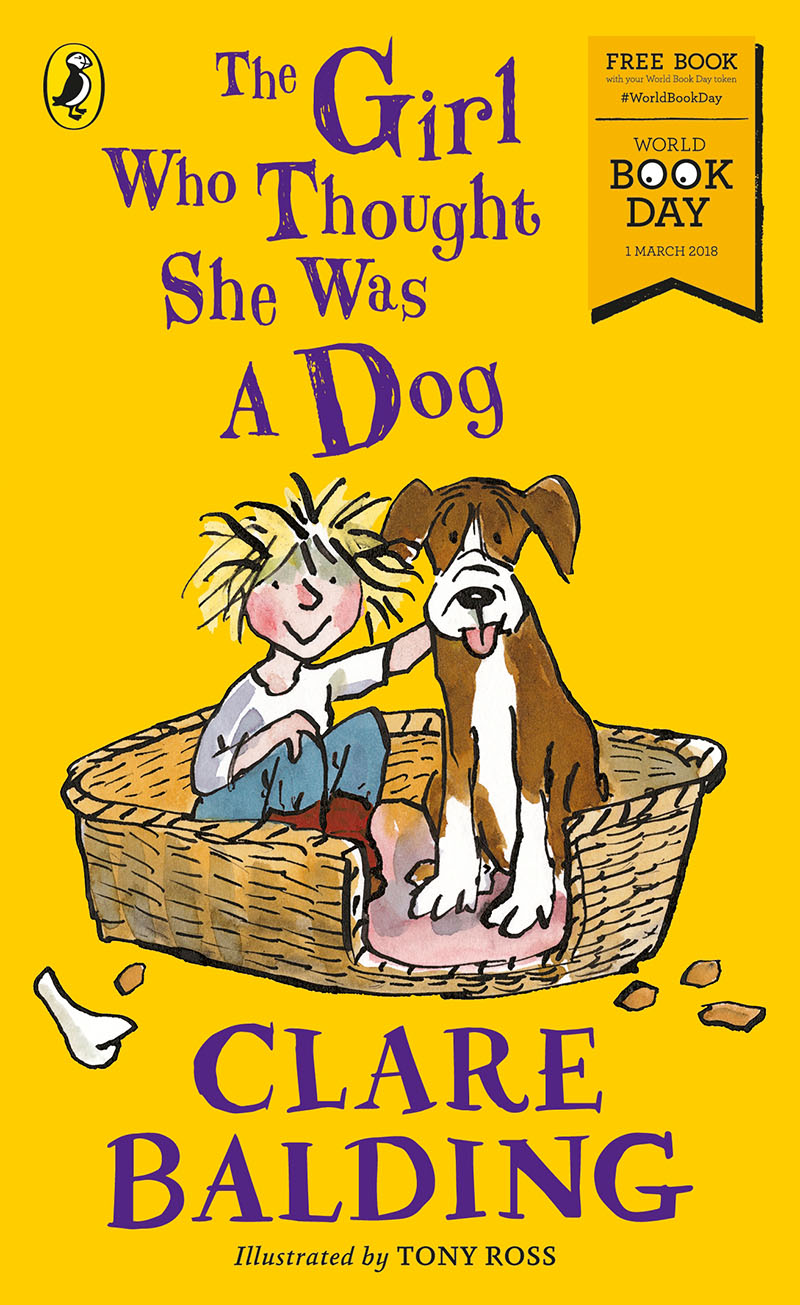 The Girl Who Thought She Was a Dog: World Book Day 2018 - Jacket
