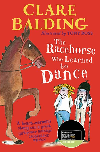 The Racehorse Who Learned to Dance - Jacket