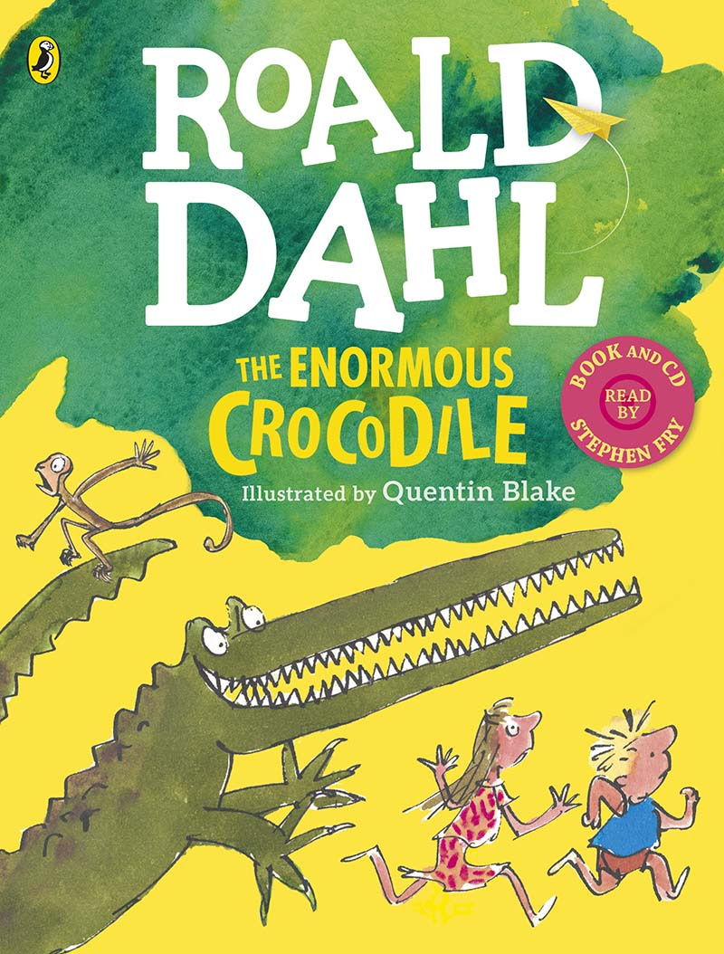 The Enormous Crocodile (Book and CD) - Jacket