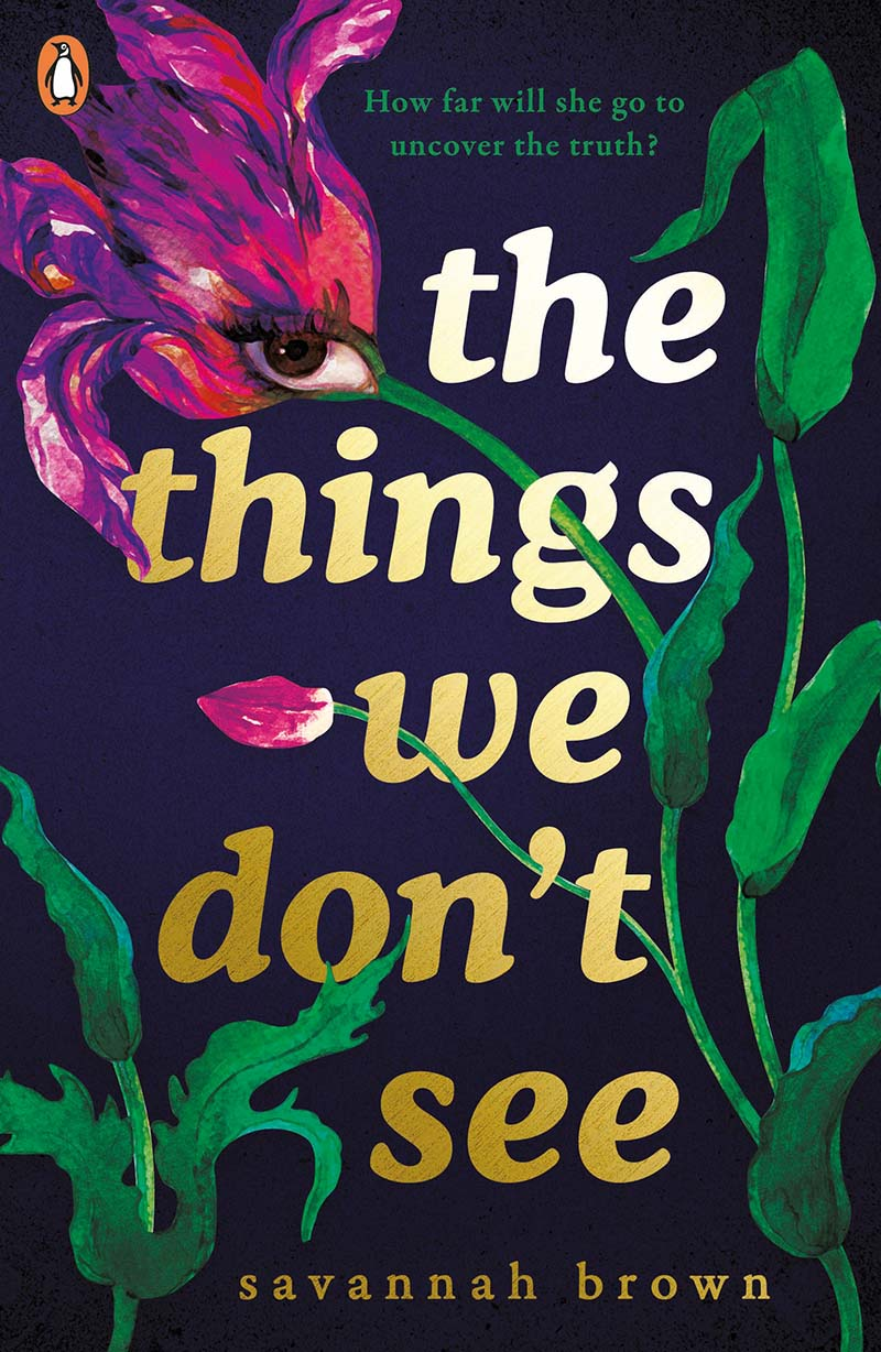 The Things We Don't See - Jacket