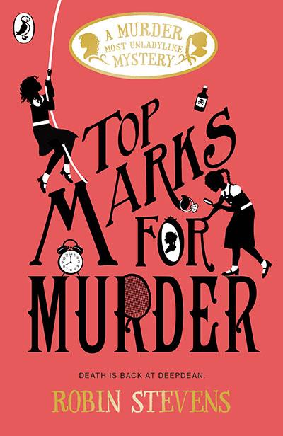 Top Marks For Murder - Jacket