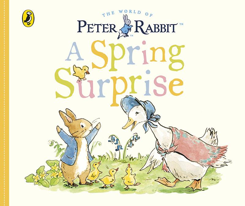 Peter Rabbit Tales - A Spring Surprise - Jacket