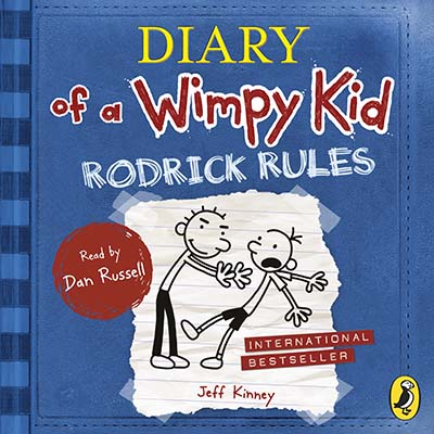 Diary of a Wimpy Kid: Rodrick Rules (Book 2) - Jacket
