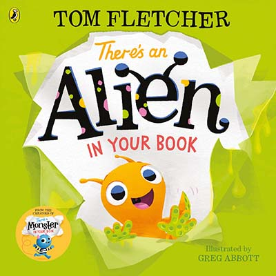 There's an Alien in Your Book - Jacket