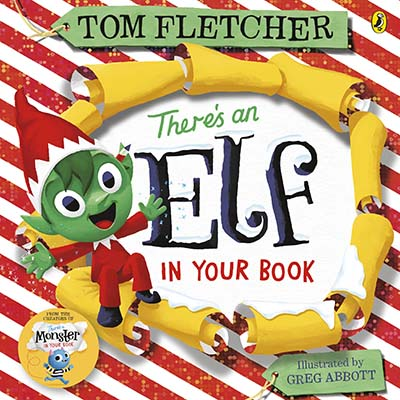 There's an Elf in Your Book - Jacket