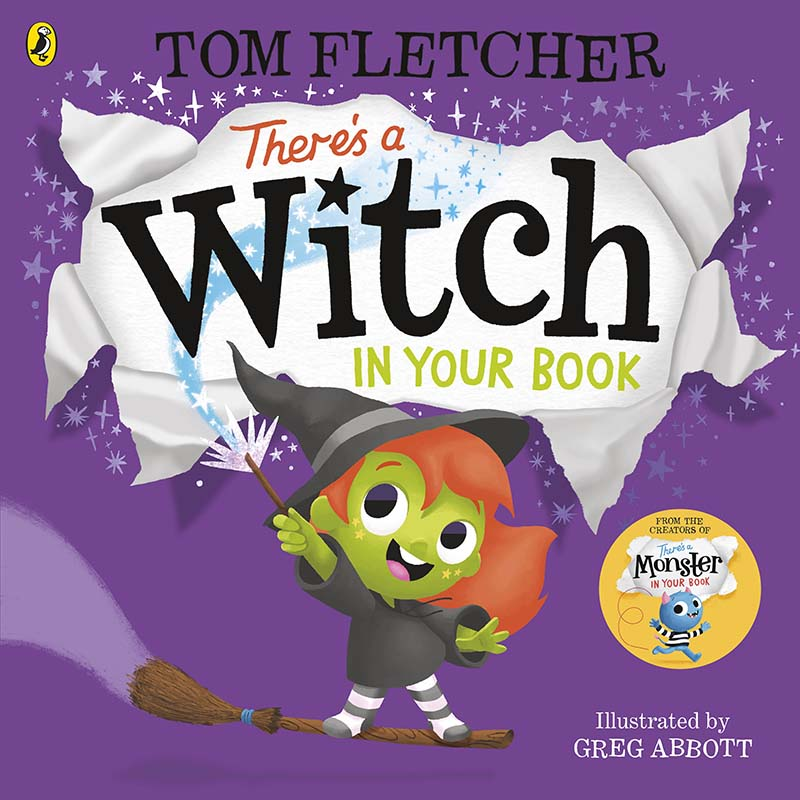 There's a Witch in Your Book - Jacket